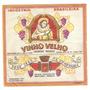 Rótulo Do Vinho Velho Licoroso Rosado - Safra 1957