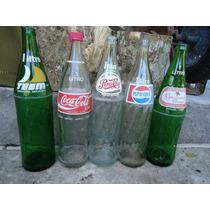 Garrafas De Refrigerante 1 Litro Coca, Pepsi, Teen 10 Cada