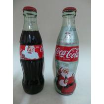 Coca Cola 2 Garrafas - 75th Aniversary Sandblom Santa