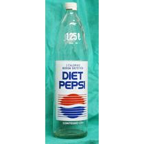 Garrafas Antigas - Diet Pepsi 1,25 Litro Tampa Rosquiável