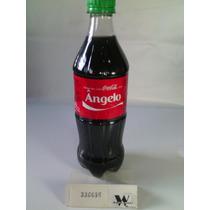 Garrafa Coca-cola / Pet - Com Nome: Angelo