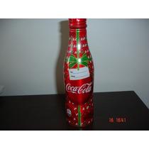 Garrafa Coca Cola Aluminio Natal
