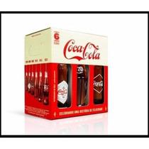 Coca-cola - Edição Comemorativa - Kit Com 6 Garrafas Retrô