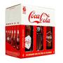 Kit Retrô Garrafas Coca Cola 120 Anos Vintage Colecionador