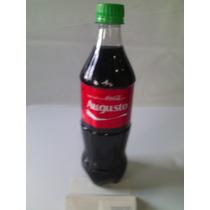 Garrafa Coca Cola Pet - Com Nome : Augusto