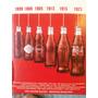 Coleção Coca-cola Retro Kit 6 Garrafas Clássicas Históricas