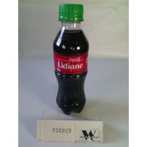 Garrafa Coca-cola / Pet - Com Nome: Lidiane