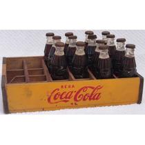 Mini Coke 1953 !!! Reposição! Garrafinhas E Caixa!