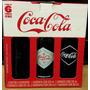 Coca-cola Kit 6 Garrafas Históricas Retro