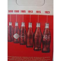 Coca Cola Edição Limitada 100 Anos 6 Garrafas