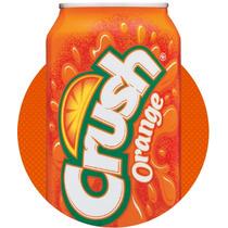Refrigerante Crush Orange Laranja 06 Latas 355ml Importado