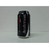 Lata Coca Cola Zero - Nomes - Andressa - Vazia