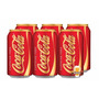 Coca-cola Sem Cafeina Coke Caffeine Free 06 Latas 355ml Eua