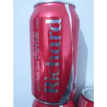 Lata Coca Cola 350ml Personalizada Coleção Nome Richard