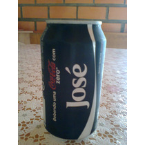 Coca Cola Zero Vazia Com Nome José