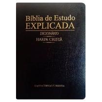 Bíblia De Estudo Explicada Harpa Dicionário E Índice Digital