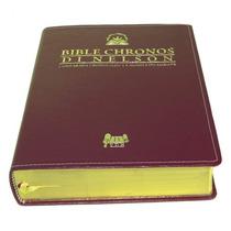 Bíblia De Estudo Chronos Di Nelson Expositiva! Oferta!