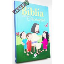 Livro Bíblia Para Criança Evangelho Jesus Infantil Capa Dura