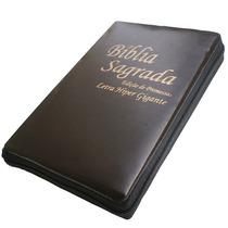 Bíblia Evangélica Com Ziper Letra Hipergigante, Frete Grátis