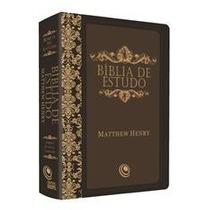 Bíblia De Estudo Matthew Henry Frete Grátis