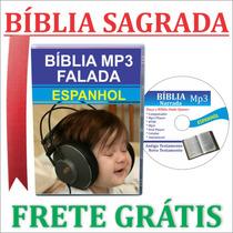 Bíblia Narrada Em Espanhol Mp3 + Frete Grátis