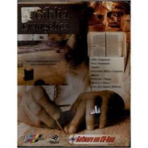 Bíblia Evangélica Eletrônica Software Em Cd Rom - Frete Grát