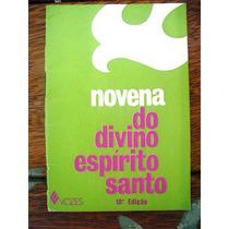 Livro: Novena Divino Espirito Santo