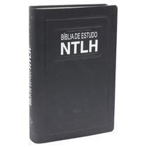 Bíblia De Estudo Ntlh Com Rodapé Muito Completa + Brinde