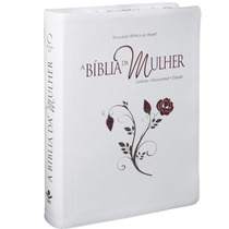 Bíblia Da Mulher Bordas Floridas Grande Frete Grátis