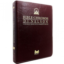 Bíblia Chronos Di Nelson Expositiva - Novo Testamento!