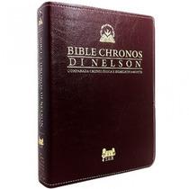 Bíblia Chronos Di Nelson Nt - Expositiva - Frete Grátis!