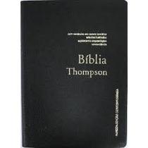 Bíblia De Estudo Thompson Capa S/ Indice