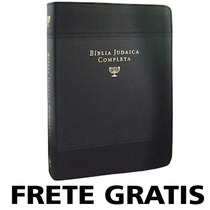 Biblia Judaica Completa Capa De Couro Dr. David H. Stern A3