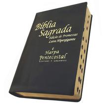 Bíblia Letra Hipergigante (evangélica)com Harpa Frete Grátis