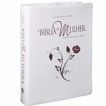 A Bíblia Da Mulher Leitura Devocional Estudo Borda Florida