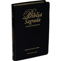 Biblia Sagrada Ra-letra Gigante-com Indice-preta
