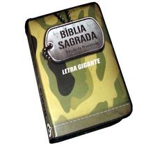 Bíblia Letra Gigante, (evangélia) Com Ziper