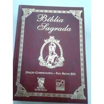 Biblia Sagrada Ediçao Comemorativa Papa Bento Xvi