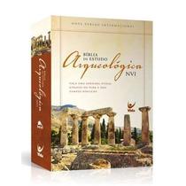 Bíblia De Estudo Arqueológica Nvi Capa Dura Ilustrada