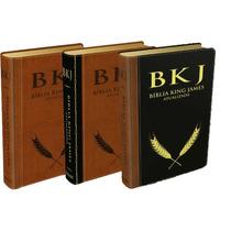 Bíblia King James Luxo A Melhor Do Grego Hebraico E Aramaico