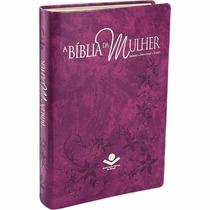 Bíblia Sagrada De Estudo Da Mulher Grande Sbb + Capa + Frete