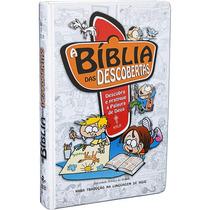 Bíblia Das Descobertas Azul Com 20% De Desconto No Frete