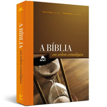 Bíblia De Estudo Cronológica - Capa Dura Ilustrada - Oferta!