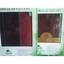 Biblia De Estudo Nvi,capa De Luxo(promoção De Fim De Ano).