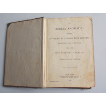 Bíblia Sagrada Ano 1900 - Frete Gratis