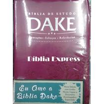 Bíblia De Estudo Dake - Nova - Feminina Frete Grátis