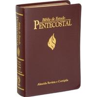Bíblia De Estudo Pentecostal Grande 17 X 23,5 Frete Gratis
