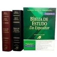 Bíblia Do Expositor - Preta Ou Vinho
