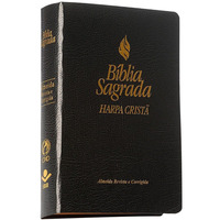 Bíblia Sagrada Com Harpa - Letra Grande - Almeida Rc