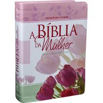 Bíblia Da Mulher Leitura Devocional Estudo + Notas Textuais!